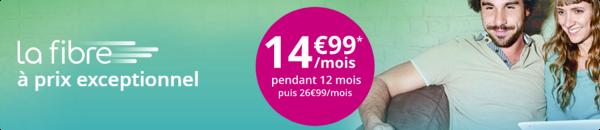 Bouygues Telecom propose la Fibre à 14,99€/mois pendant 1an pour tous ! 14918111