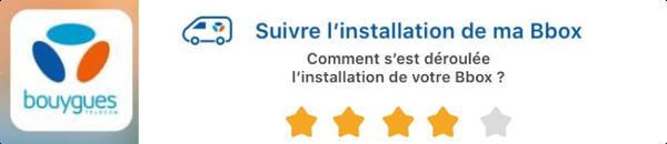 Un service de géolocalisation et notation des techniciens fibre Bouygues Telecom 14955410