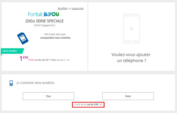 Le forfait B&YOU 20Go à 1,99€/mois pendant 1 an Carte_10