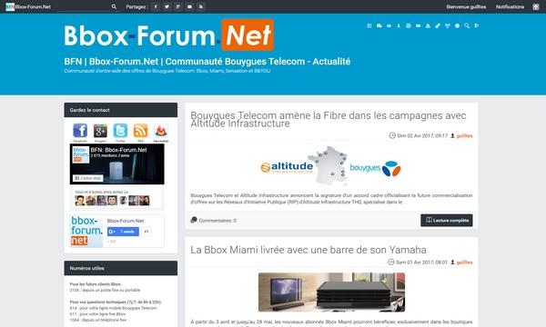 Bbox-Forum.Net se refait une beauté ! Nouvel10