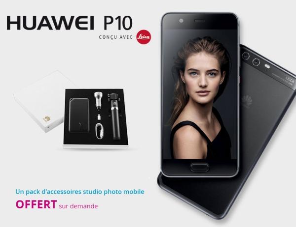 Le Huawei P10, disponible en précommande chez Bouygues Telecom à partir de 243€ P1010
