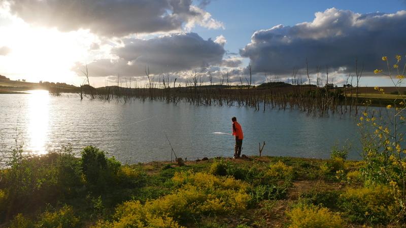Pêche Lac de la Ganguise P1000715