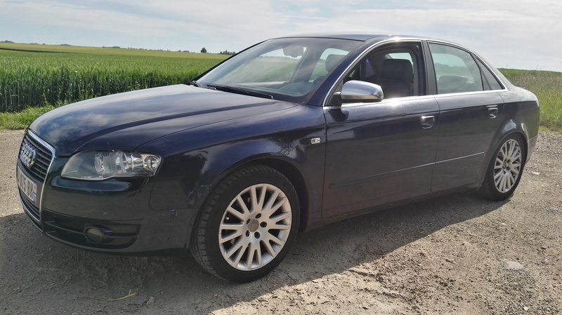 AUDI A4 2L TDi 140ch S-Line Multitronic 7 vitesses FULL OPTIONS Img_2066