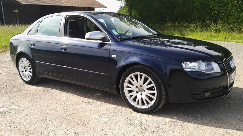 AUDI A4 2L TDi 140ch S-Line Multitronic 7 vitesses FULL OPTIONS Img_2067