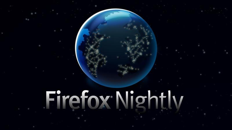 متصفح firefox nightly بإصدار جديد و سرعة كالبرق 08987910