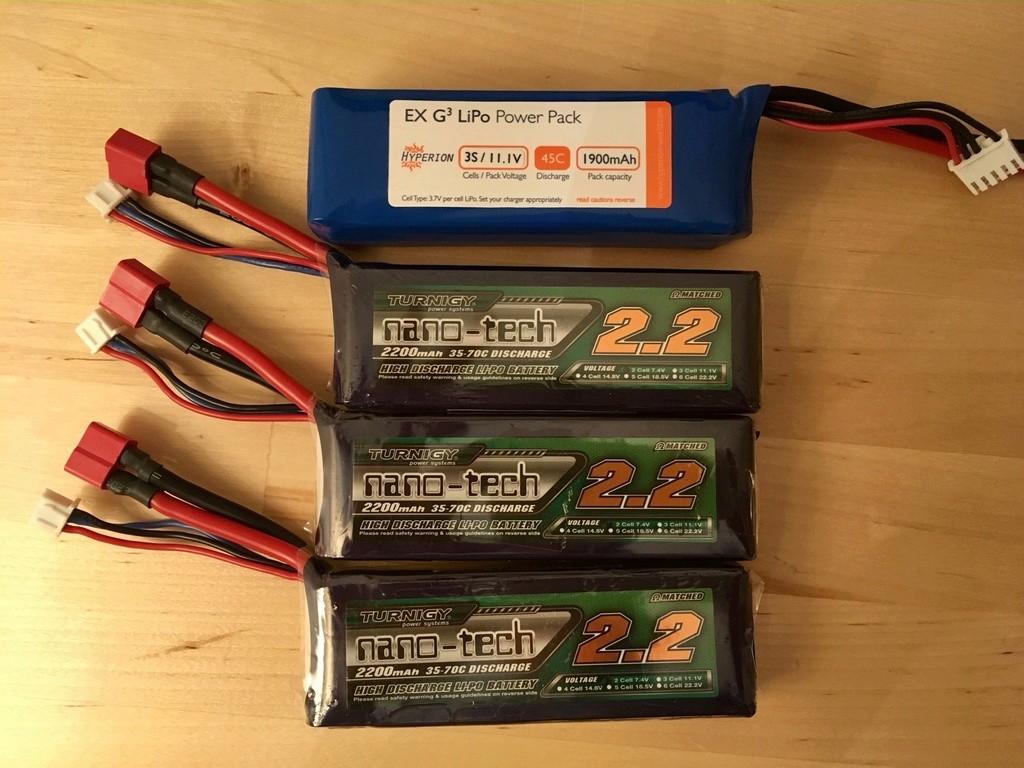 Packs Lipo 2S 2200 et 3S 1900 MA Fullsi11