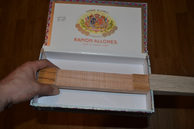 Fabriquer une cigar box guitar simple. Dsc_0010