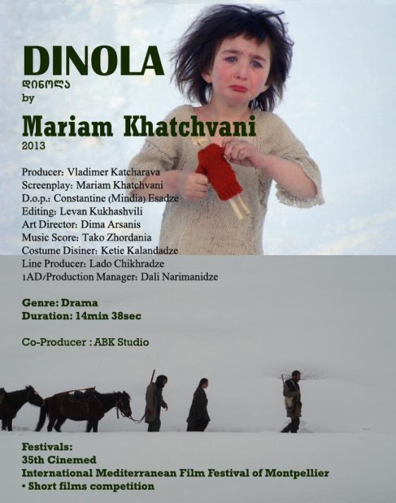 მარიამ ბაკაჩო ხაჭვანი Mariam Bakacho Khatchvani  Dinola10
