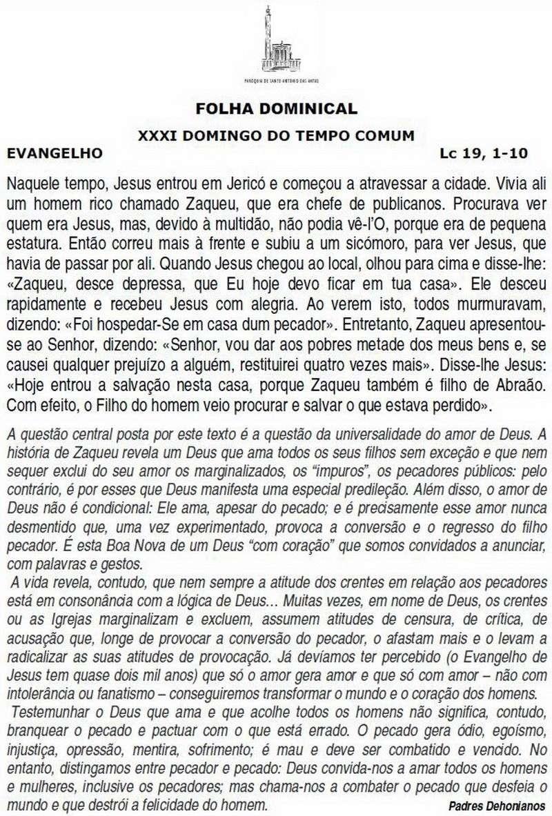 Folha Dominical 119