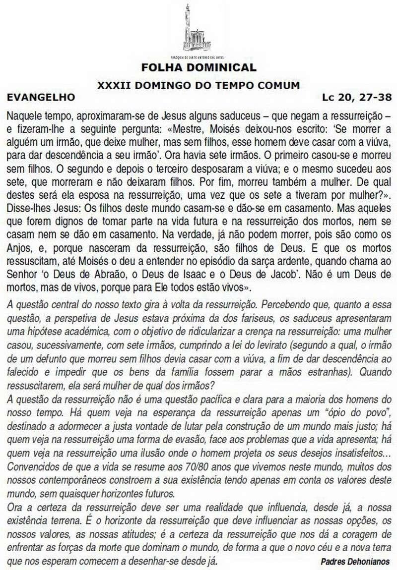 Folha Dominical 122