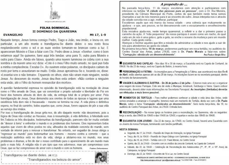 Folha Dominical 144