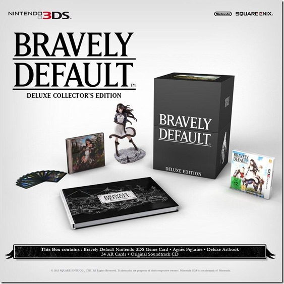 Bravely Default : Une édition Collector spéciale européenne Bravel10