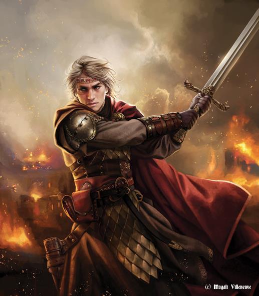 Art de M.Villeneuve pour un Lannister? 10406810