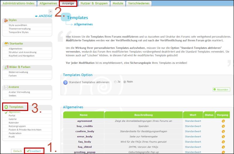[Neue Funktion] Templates phpBB3/Invision, Zeitversetzte Newsletter, Avatare auf Update32