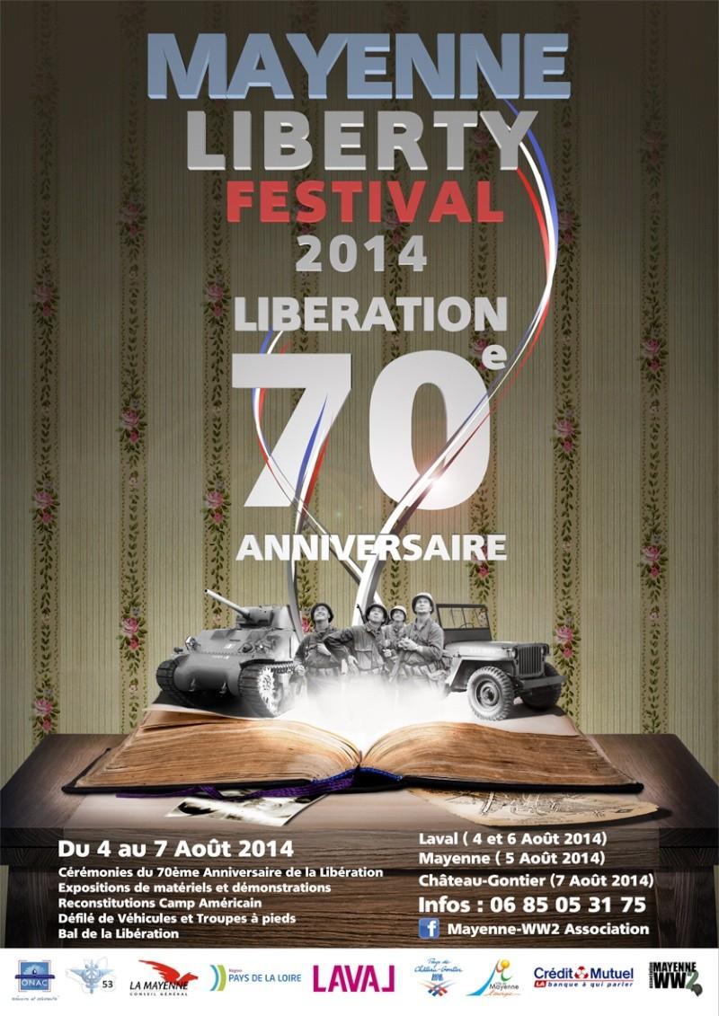 MAYENNE LIBERTY FESITVAL 2014 !! 70ème ANNIVERSAIRE DE LA LIBERATION DE LA MAYENNE , PRESENTION ET LANCEMENT OFFICIEL Mlf_2011