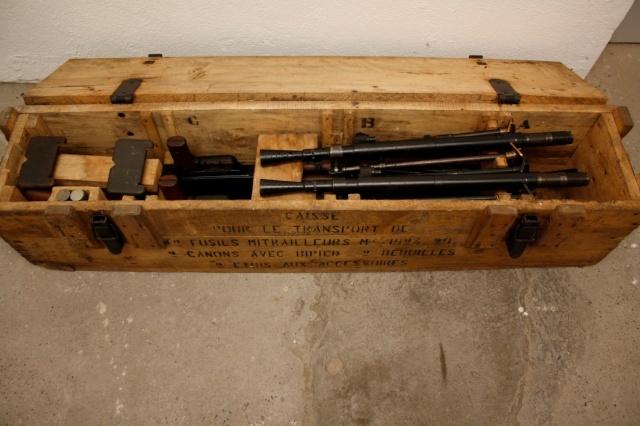 Le Fusil-Mitrailleur de Châtellerault Mle 1924 M29 et accesoires Caisse10