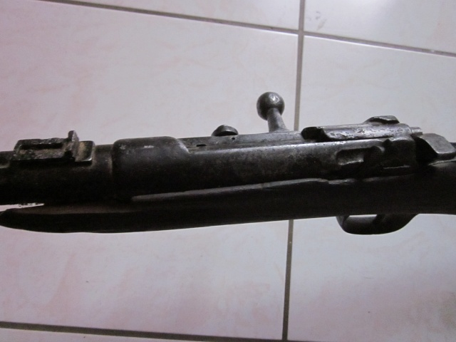 """Epave de carabine """"Germanique"""" très bizarre . Img_6422"""