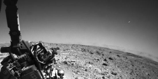 Météore dans le ciel de la planète Mars ? Mars_u10