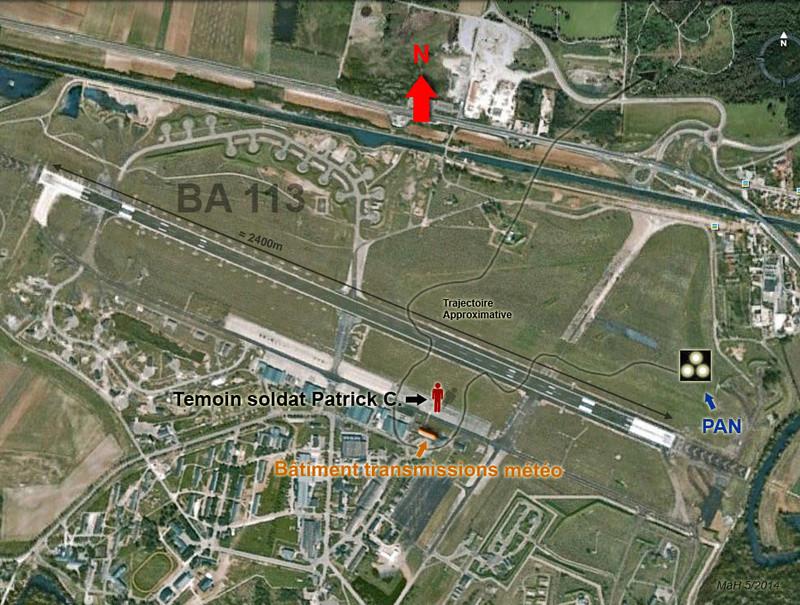 1978 - Affaire Base aérienne 113, rentrée vraiment bizarre ou authentique ovni ? Des avis ?  Pan_ba10