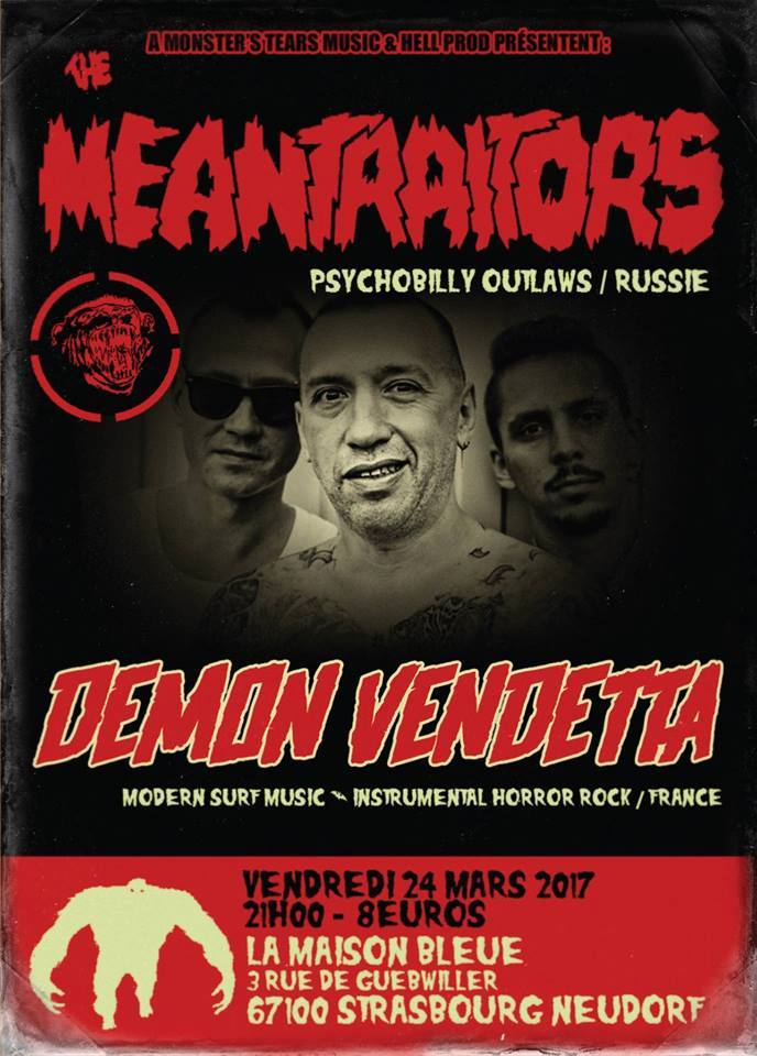 Meantraitors + Demon Vendetta - le 24 mars 2017 à Strasbourg (67)  24_mar10