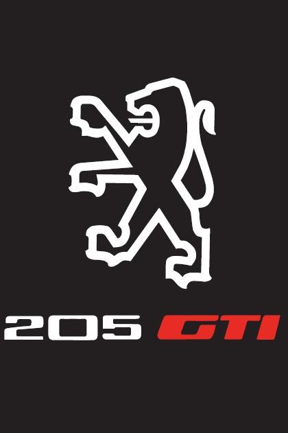 [Commande] Housse 205 GTI Logo_h10