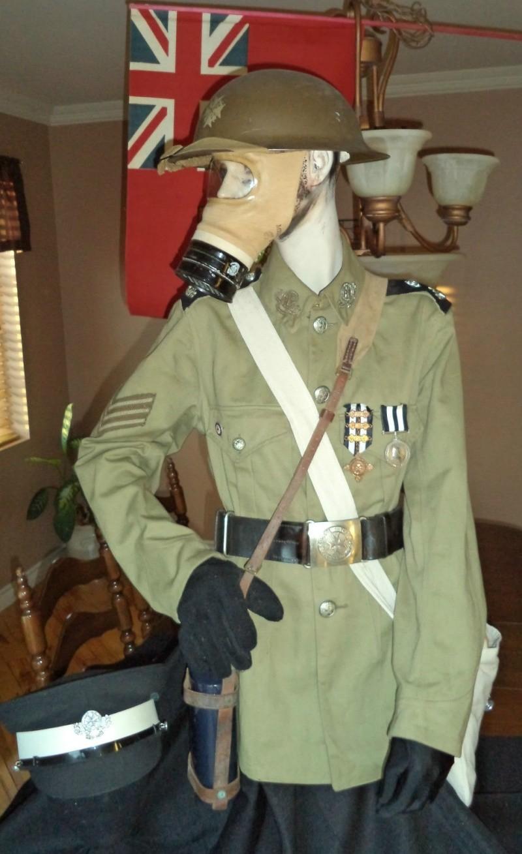 WW2 , Canadian St-John ambulance brigade 1941  museum piece. T2ec1616