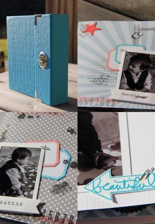 """Un mini """"Love"""" par Sandrine et Sylvie (Liste des photos et matériel) 100can12"""