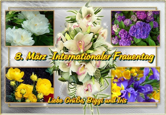 Grüsse zum  8. März Frauen10