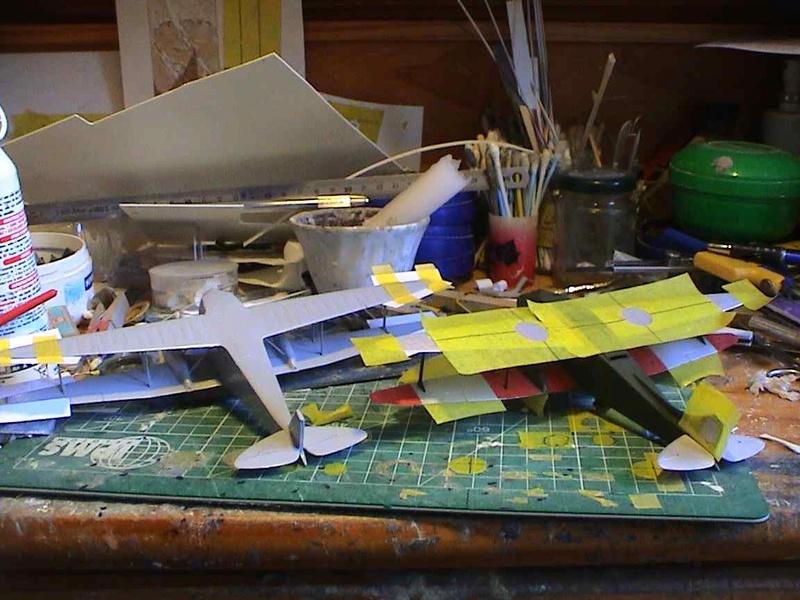 [Heller] De Havilland DH89 Dragon Rapide + Conversion DH 84 Dragon - Page 2 Dh10510