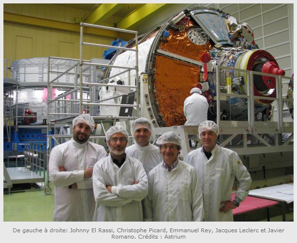 "Lancement Ariane 5 - VA219 / ATV-5 ""Georges Lemaître"" - 29 juillet 2014 Screen14"