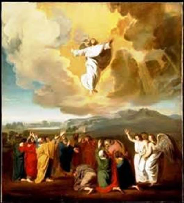 Ascension: De la même façon qu'il est ressuscité, il est monté au ciel, Ascens10