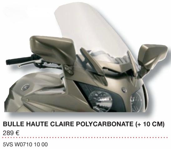 """[Vendue] Bulle haute """"Yamaha"""" FJR 2006 => 2012 Sans_t10"""
