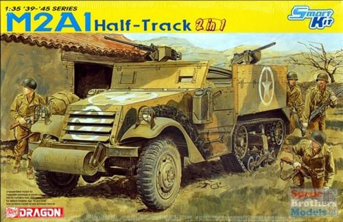Half-track M2 en Indochine Dml63210