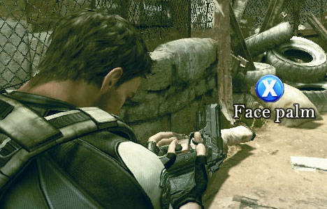 Resident Evil 5 split-screen co-op demo reinforces need to buy two copies Palm-410