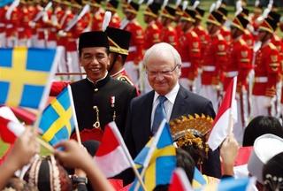Zweedse koning op staatsbezoek in Indonesië 119