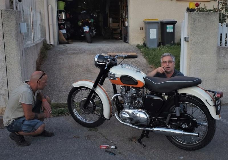 Triumph motorcycle Dscf7828