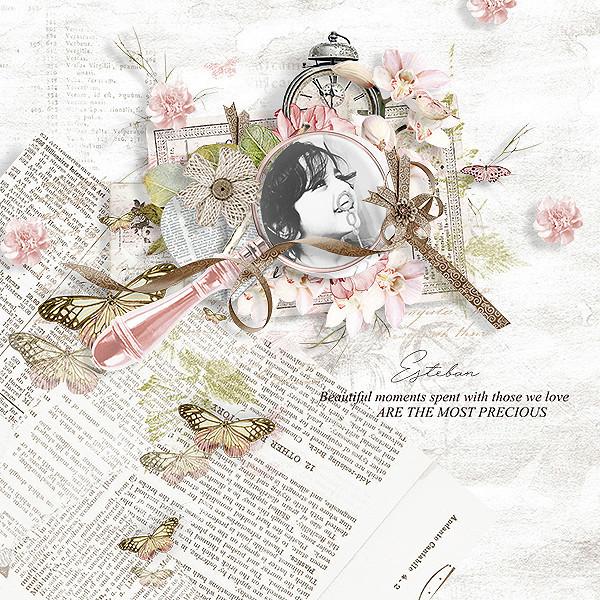 Keep memories forever (kit complet) Julie11