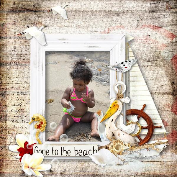The sound of the waves (kit complet) par Graphia Bella Mcp0110