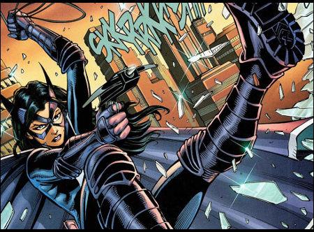 Une nouvelle jeunesse...une nouvelle terreur nocturne....[Bat / Huntress / L'Épouvantail ] Huntre10