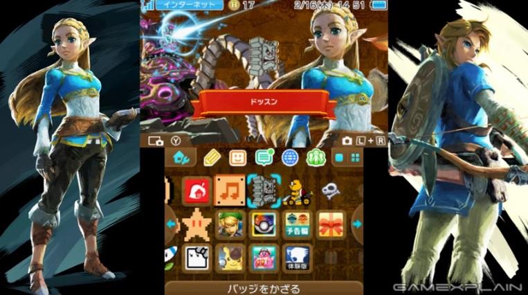 2 Thèmes Botw pour la 3DS au japon. Breath10