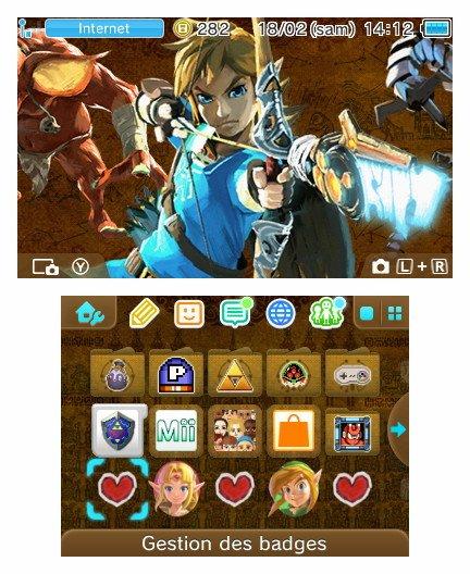 2 Thèmes Botw pour la 3DS au japon. Theme010