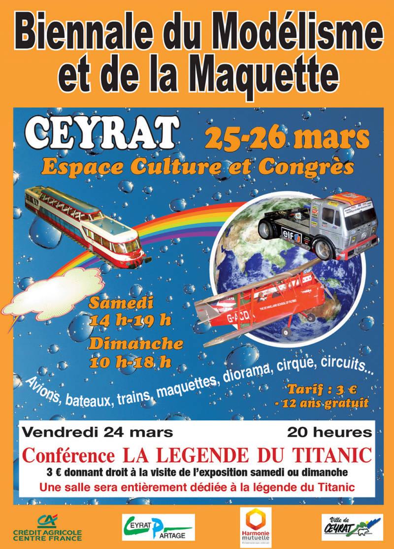 Exposition 11ème Biennale du Modélisme et de la Maquette à Ceyrat (Puy de Dôme) 2017-a10