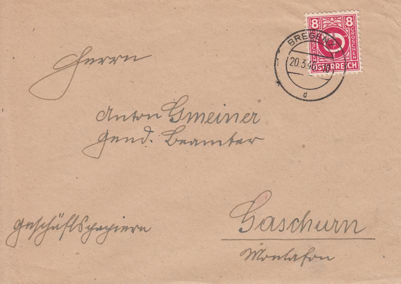 Posthornzeichnung  -  ANK 697-713  -  Belege - Seite 3 Img65