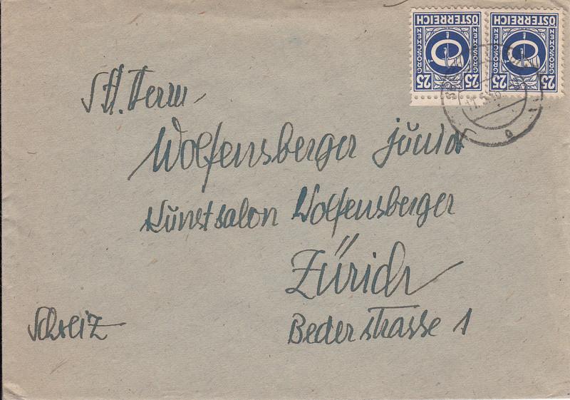 Posthornzeichnung  -  ANK 697-713  -  Belege - Seite 3 Img66