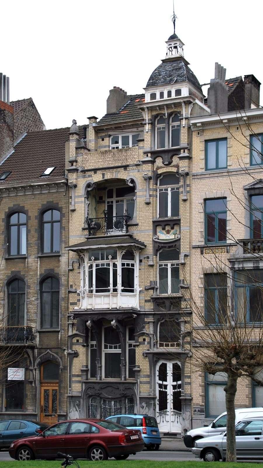 STREET VIEW : les maisons art nouveau  - Page 2 10303110