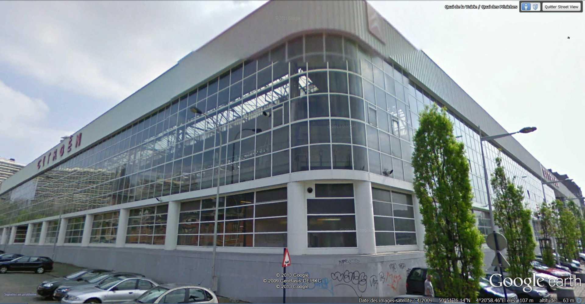 """Le garage Citroën de la rue de Marseille à LYON, """"plus grande station-service du monde"""" 2013-113"""