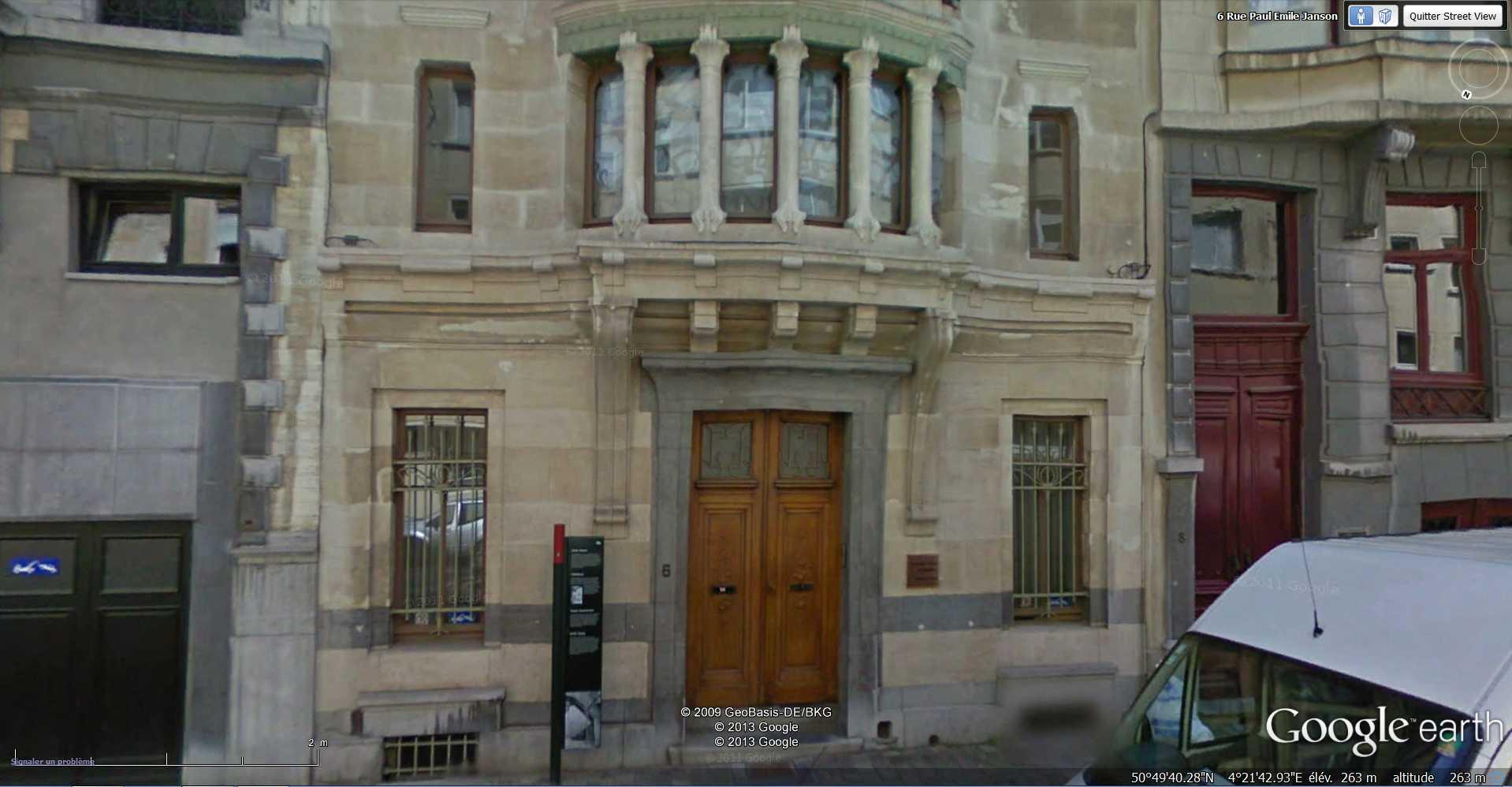 STREET VIEW : les maisons art nouveau  - Page 2 2013-142