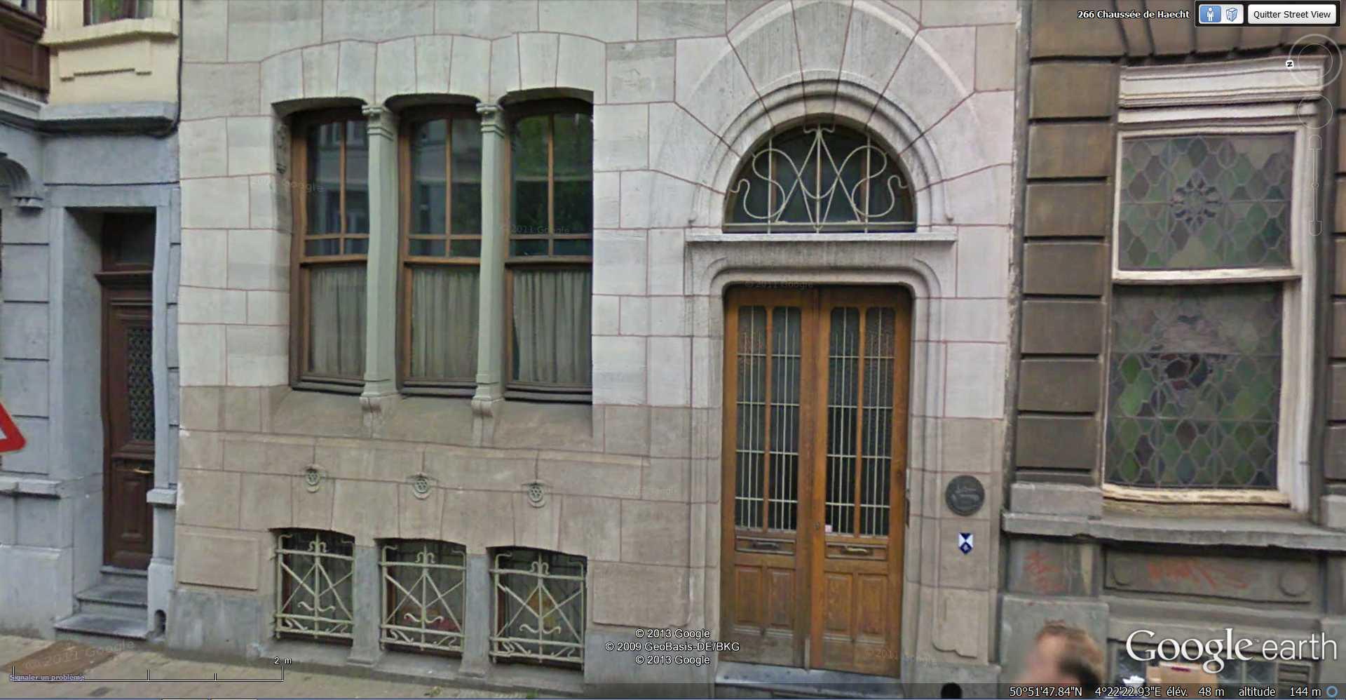 STREET VIEW : les maisons art nouveau  - Page 2 2013-147