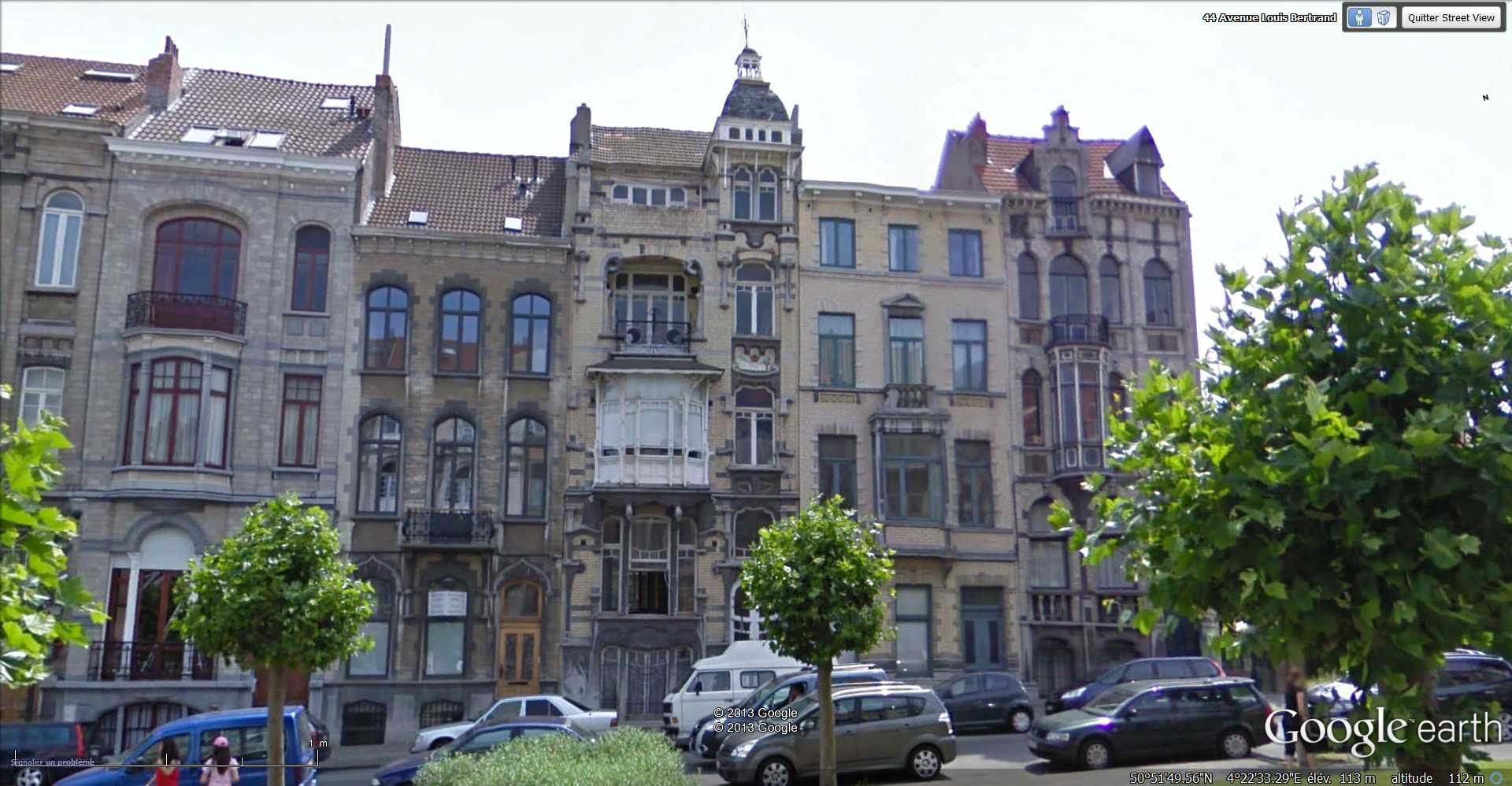 STREET VIEW : les maisons art nouveau  - Page 2 2013-159