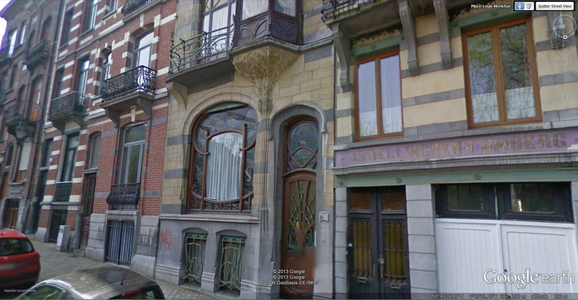 STREET VIEW : les maisons art nouveau  - Page 2 2013-183